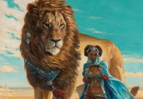 Лев добился всего