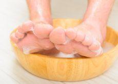 Уксус и ванна для ног