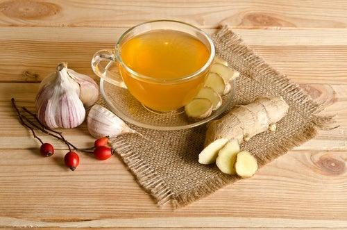 Рецепт настоя чеснока и имбиря чтобы очистить артерии