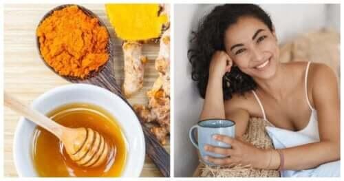 Напиток из куркумы, корицы и меда, который стимулирует мозг