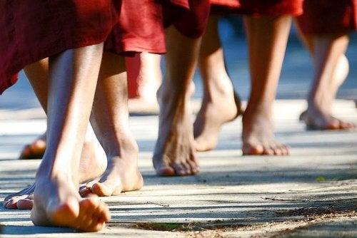 Медитация во время прогулки избавит вас от негативных эмоций