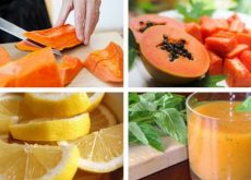 Папайя богата витаминами и минералами