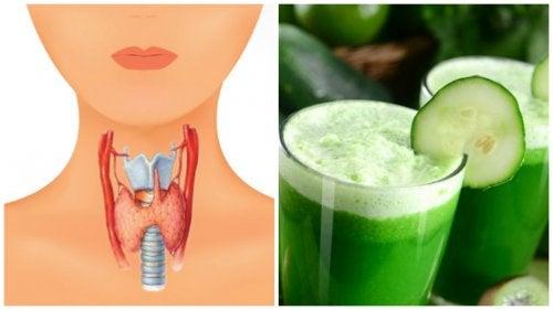 Позаботьтесь о здоровье щитовидной железы с помощью этого мультивитаминного сока!
