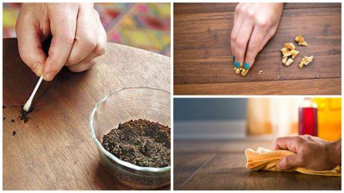 Поцарапанная деревянная мебель: 8 способов ее восстановления