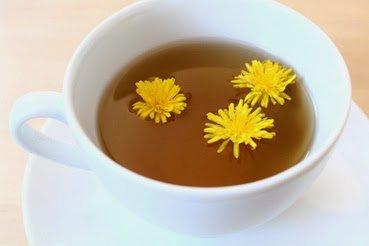 Чай из одуванчика и натуральные диуретики