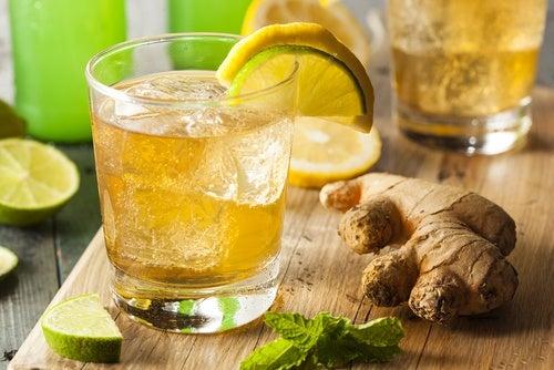 Детокс-напитки на основе имбиря