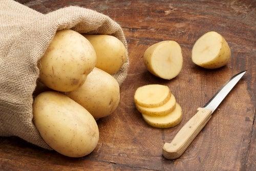 Антиоксиданты в картофеле и шрамы