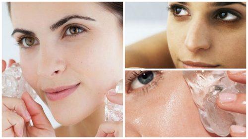 Уход за кожей: 7 доводов в пользу использования кубиков льда
