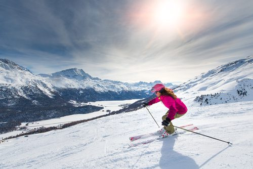 Лыжи помогают уберечься от инфаркта