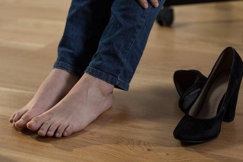 Ноги и имбирная вода