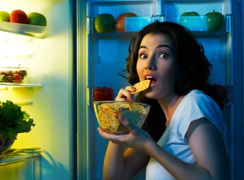 Перекус и лишний вес