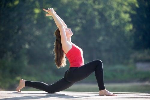 Боль в пояснице и растяжка мышц бедра