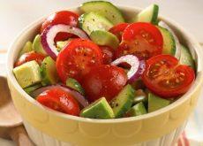 Овощной салат и правильное питание