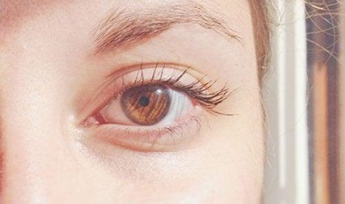 Карий цвет глаз