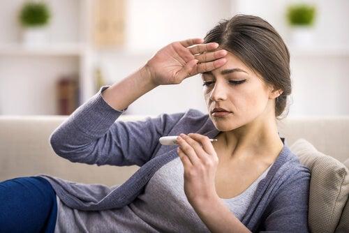 Проблемы с желчным пузырем: температура