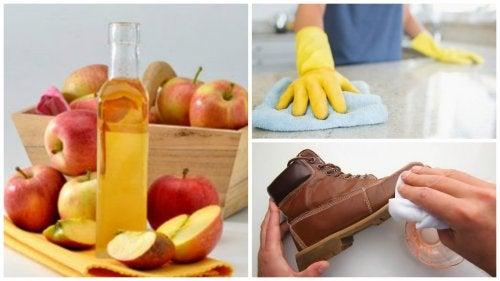 Яблочный уксус и уборка дома