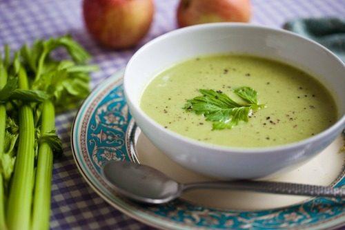 Зеленый детокс-суп на обед и правильное питание