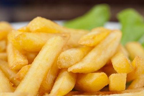 Жареная картошка и микроволновка