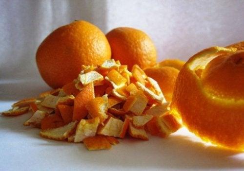Боли в шее и отвар цедры апельсина
