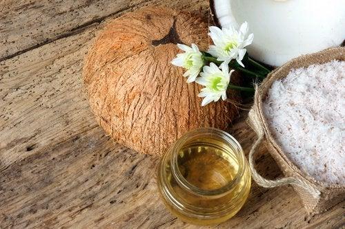 Кокосовое масло и сыворотки