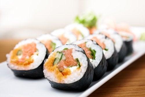 Суши для молодости кожи