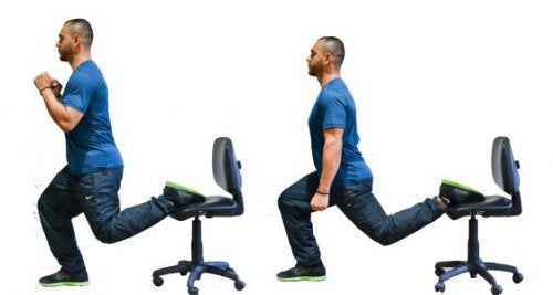 Упражнение сплит поможет убрать бока