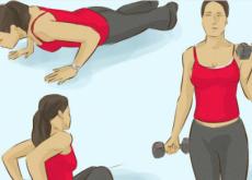 Упражнения для укрепления мыщц рук