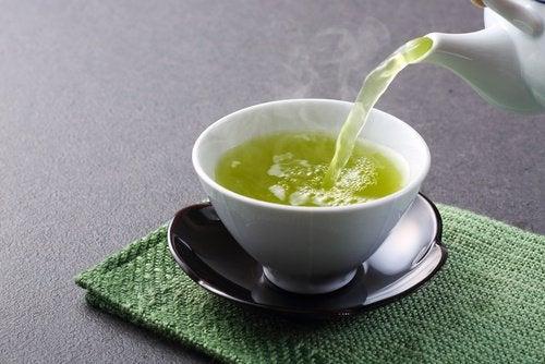 Зелёный чай и здоровье печени