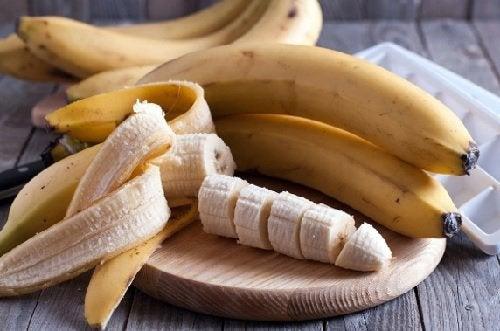 Банан и мёд
