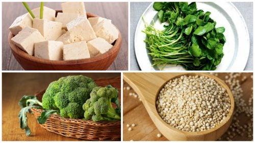 8 богатых белком растительных продуктов и пищевая пирамида