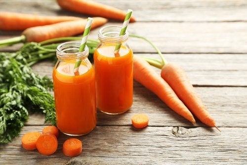 Морковь снимет воспаление