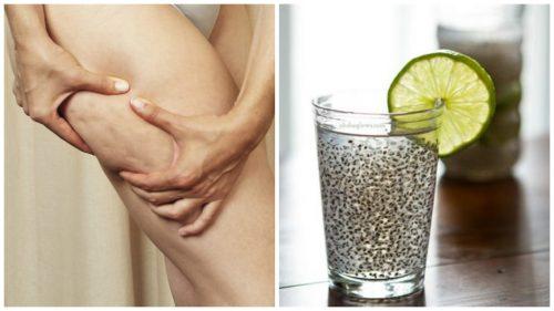 Напиток из льняного семени для борьбы с целлюлитом и улучшения состояния кожи
