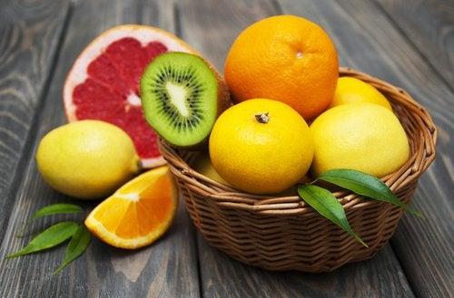 Цитрусовые и здоровая печень