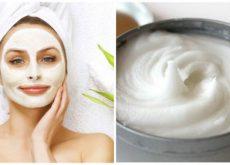 Удалить пятна на лице поможет эта маска из йогурта и банана