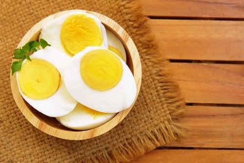 Яйцо на ужин