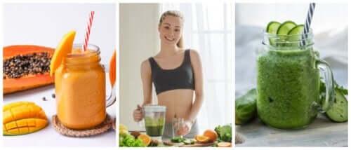 5 вкусных смузи для устранения задержки жидкости в организме