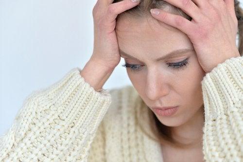 Головная боль и cильное нервное напряжение