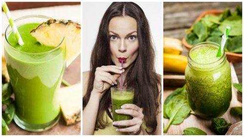 Зеленый коктейль: 5 вариантов, которые помогут очистить организм и похудеть