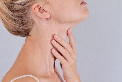Набор лишнего веса и проблемы с щитовидной железой