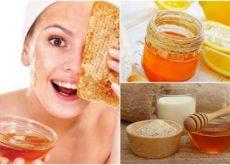 Пчелиный мед и маски для лица
