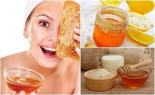 5 масок на основе меда, которые помогут уменьшить морщины