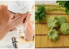 Как приготовить мыло из петрушки и пятна на лице