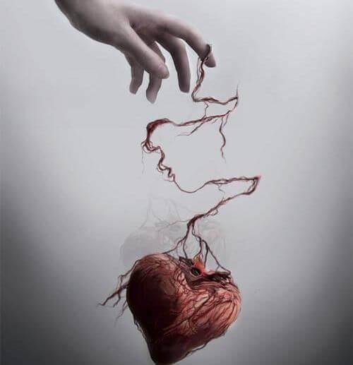 Боль и разбитое сердце