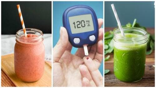 5 натуральных коктейлей, которые помогут снизить уровень сахара в крови