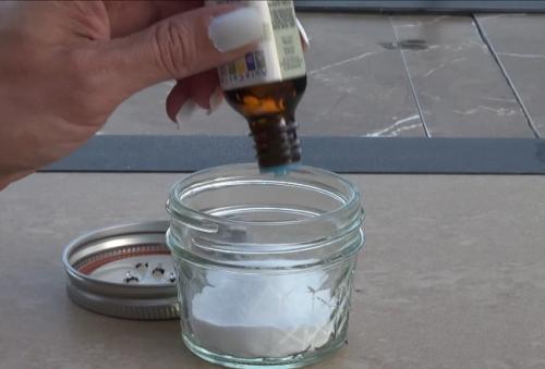 Сода и масло