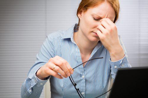 Нервный тик глаза и стресс
