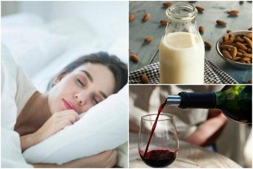 7 натуральных напитков, которые помогут хорошо спать