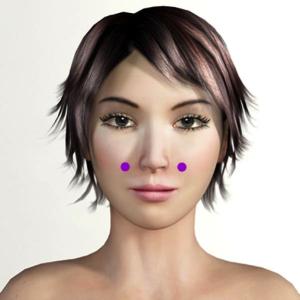 Лицо и акупунктура