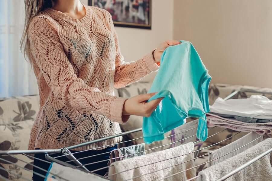 Сушить одежду