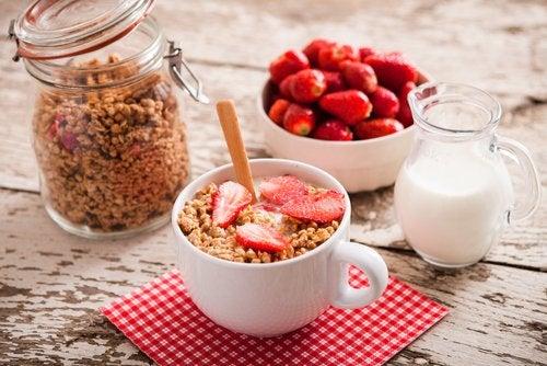 Завтрак и живот